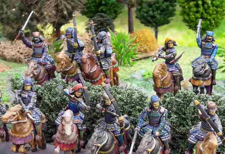 Figurines Chevalier Samourail