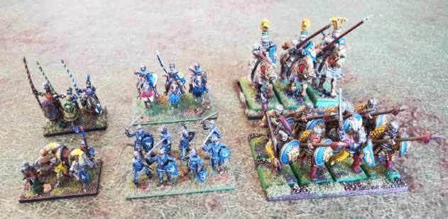 Bannerwar échelle des unités