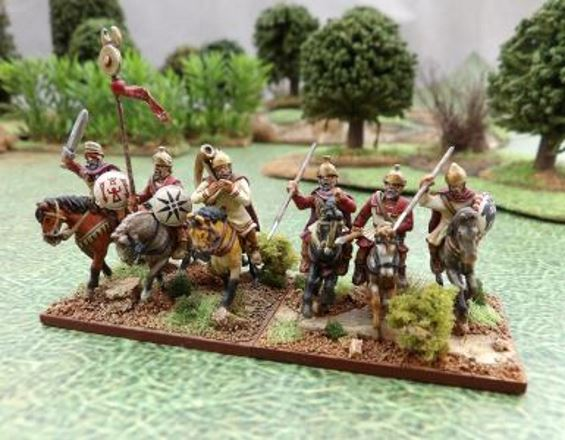 figurine 15mm cavalier carthage