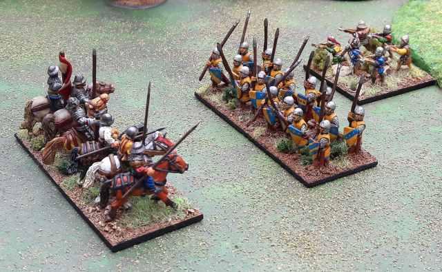 Bannerwar unités de figurines